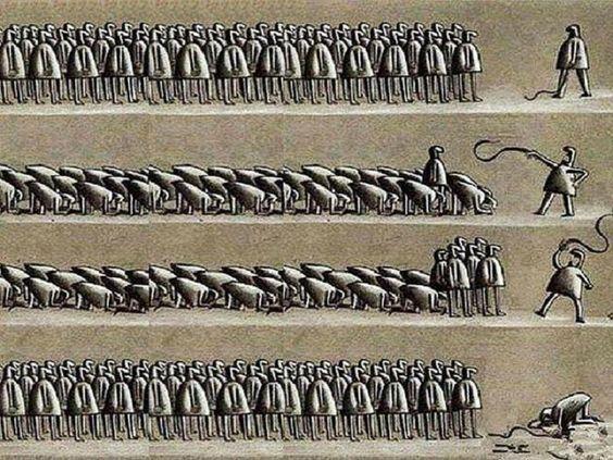 Servidão voluntária e tirania no poder – CAOS FILOSÓFICO